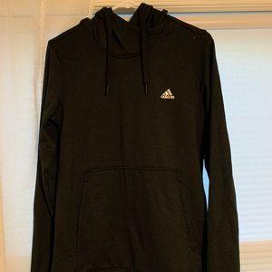 black and gray adidas hoodie